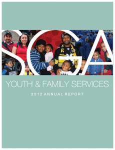Youth + Family Services annual report-2